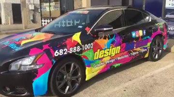 2013 Nissan Maxima #vehiclewrap #wrap