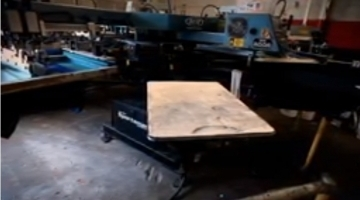 Screen Printing at Frontend Solutions in Grand Prairie TX